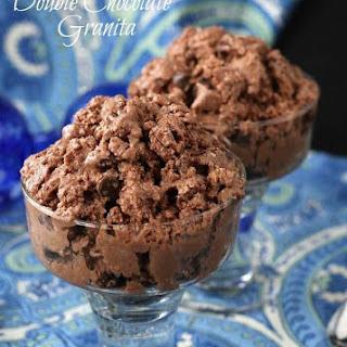 Vegan Double Chocolate Granita