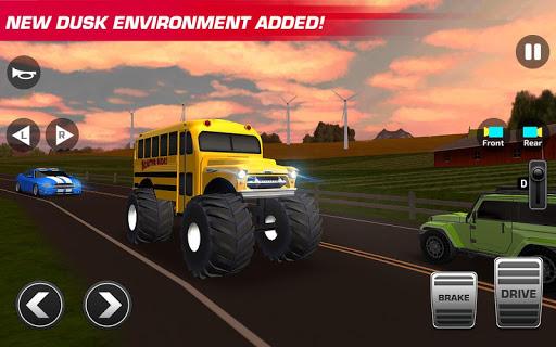 Super High School Bus Driving Simulator 3D - 2020 apkdebit screenshots 6