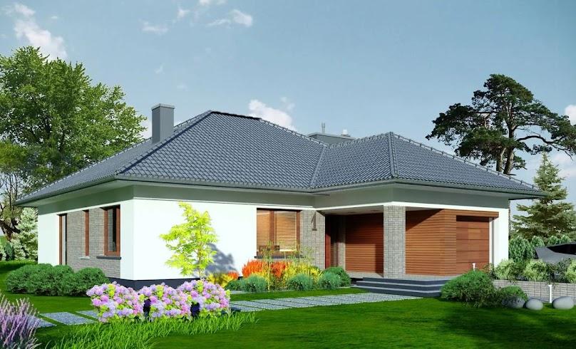 Projekt domu Domidea 2