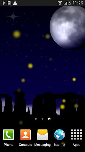 Fireflies Live Walpaper