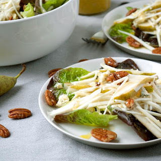 Celeriac, Pear & Stilton Salad with Pecans