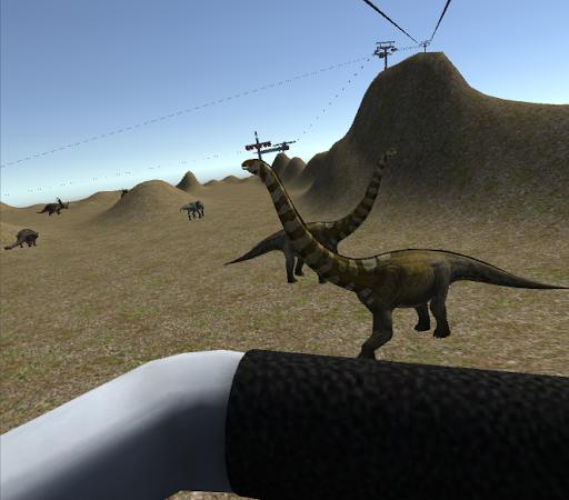 Jurassic Dinosaur Ropeway Sim