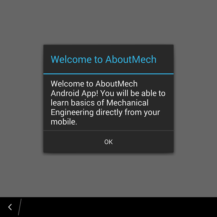AboutMech- screenshot