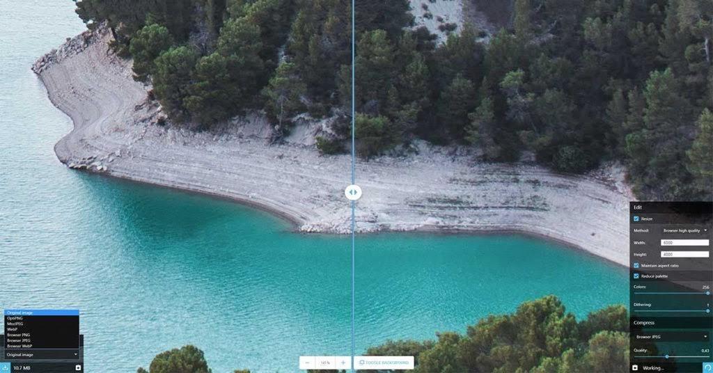 Squoosh: nueva herramienta online gratis de Google para convertir y comprimir fotos