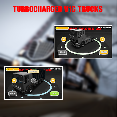 Truck Racing 3D- screenshot thumbnail