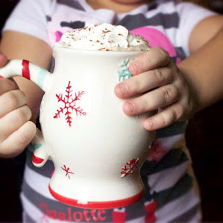 The Best Homemade Hot Chocolate with Vanilla Sugar Cookie Whipped Cream.