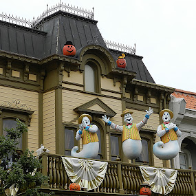 Friendly Ghosts by Vivek Suryanarayana - City,  Street & Park  Amusement Parks