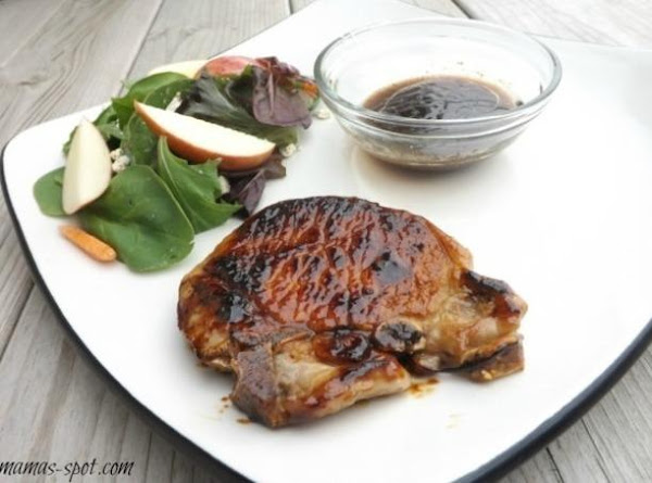 Sticky Apple And Balsamic Pork Chops Recipe