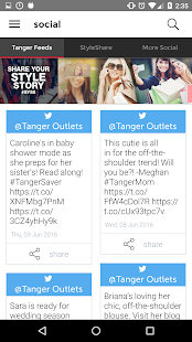 Tanger Outlets- screenshot thumbnail