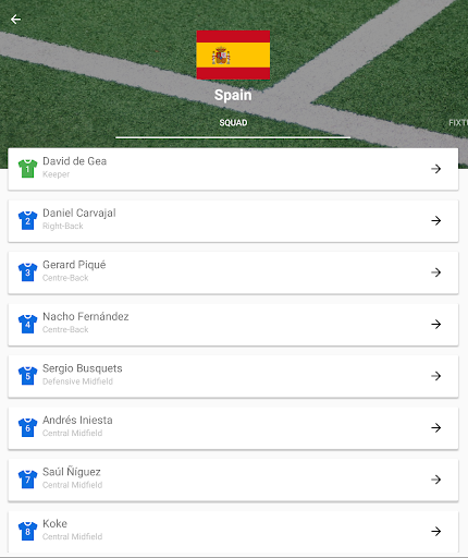 World Cup 2018 Live Scores & Fixtures 2.0.1 screenshots 14