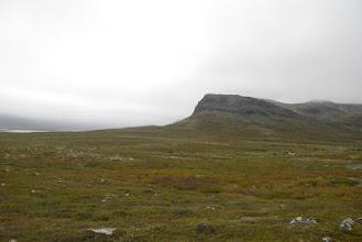 Kuva: Porojärven laaksosta ei paljoa enää näkynyt