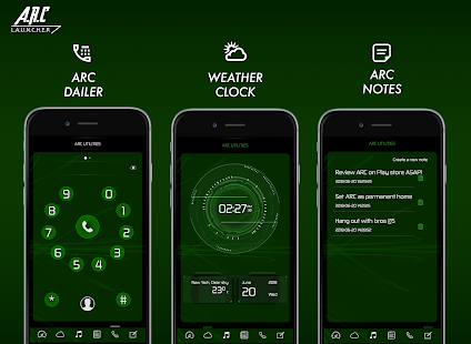 ARC Launcher 2018 Themen, DIY, HD Hintergrundbilde Screenshot