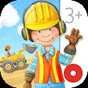 Tiny Builders: Crane, Digger, Bulldozer for Kids icon