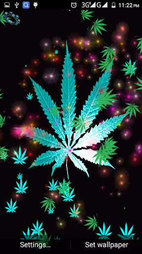 Falling Weed Live Wallpaper Apk Weed Rasta Live Wallpaper 1 11 Apk By Dualapps Details