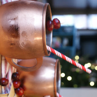 Cranberry Moscow Mule Recipe.