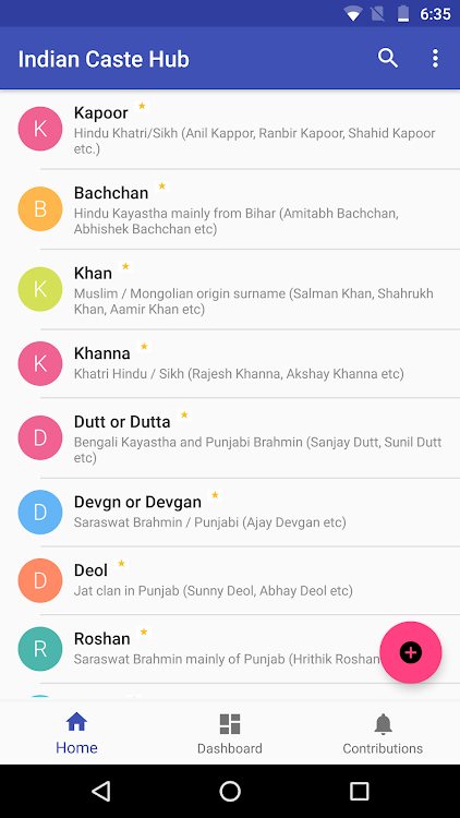 Indian Caste Hub - Know your Surname – (Android Apps) — AppAgg
