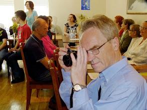 Photo: Seminarą pradėjo ir sveikinimo žodį tarė Lietuvos aklųjų ir silpnaregių sąjungos pirmininko pavaduotoja Ramunė Balčikonienė.