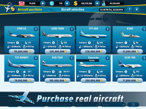 Airlines Manager - Tycoon 2020 3.03.0004 screenshots 15