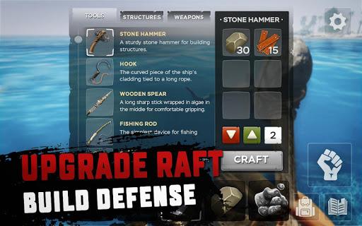 RAFT: Original Survival Game game (apk) free download for Android/PC/Windows screenshot