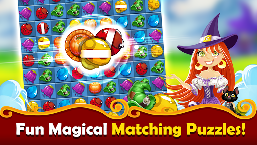 New Witchy Wizard 2019 Match 3 Games Free No Wifi screenshots 16