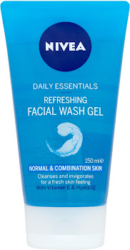 Nivea Daily Essentials Refreshing Facial Wash Gel - 150ml