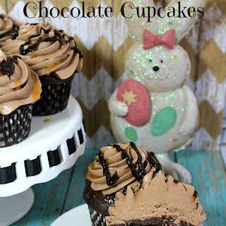 Heavenly Easter Cadbury Chocolate Cupcakes.