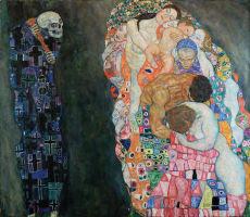 Tod und Leben. Gustav Klimt
