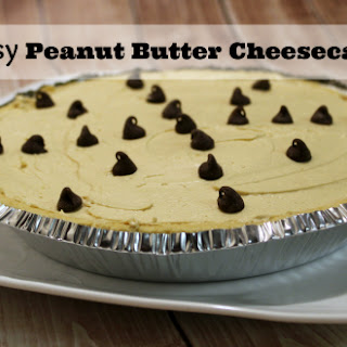 Peanut Butter Cheesecake.
