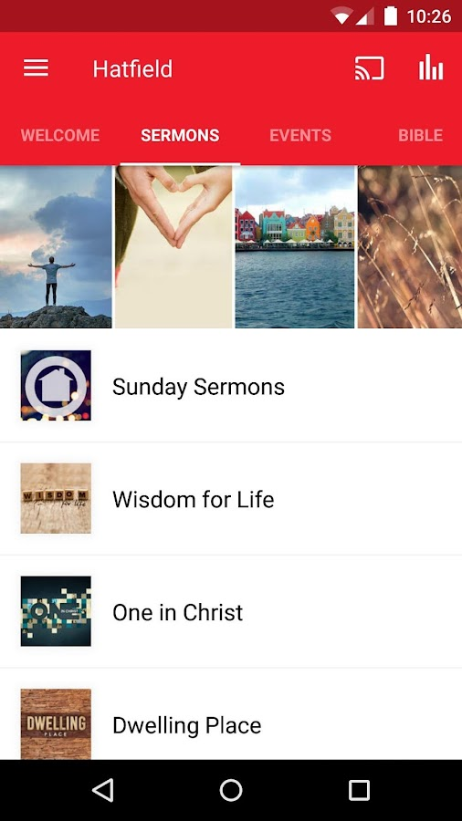 Hatfield Christian Church- screenshot