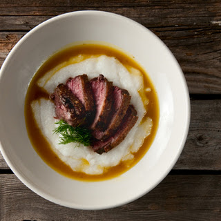 Goose Breasts With Orange-ouzo Sauce