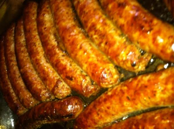 Baked Italian Sausages Recipe