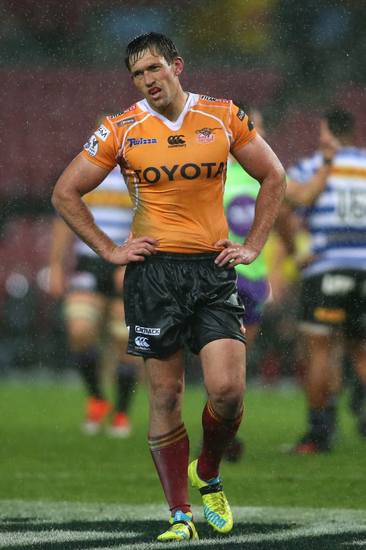 Louis Fouche of the Free State Cheetahs.