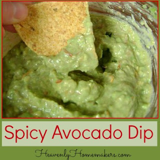 Spicy Avocado DipYum