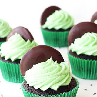 Mint Chocolate Cupcakes.