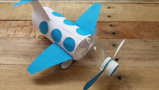 Plane Paper Creative - náhled