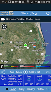 KRGV FIRST WARN 5 Weather- screenshot thumbnail