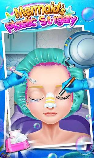 マーメイドの整形手術 - 無料外科医シミュレータゲーム