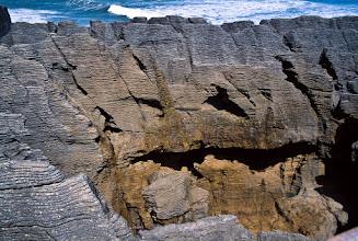 Photo: Pancake Rock, Punakaiki