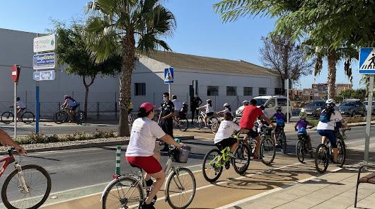 Inauguran el nuevo tramo de carril bici de Pulpí