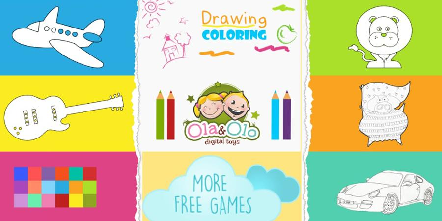 Drawing and Coloring for Kids - Android Apps on Google Play