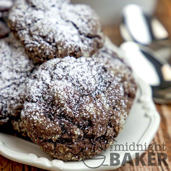 Gooey Chocolate Crinkle Cookies