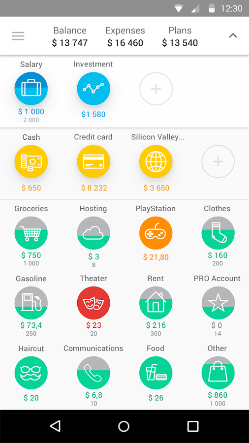 CoinKeeper: spending tracker💰- screenshot