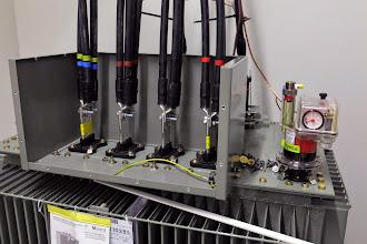 Photo: Transformateur - Départ 400 V #datacenter #reims (Visite de chantier 11.12.2014)