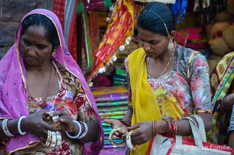 Femmes sur le marché, Jodhpur