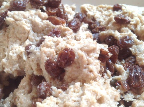 Add the plump raisins and optional caraway seeds if using, knead with floured hands...