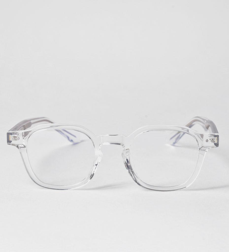 Berlin Clear, przezroczyste okulary do pracy przy komputerze
