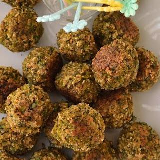 Broccoli Meatballs (Vegetarian & Gluten free Recipe)