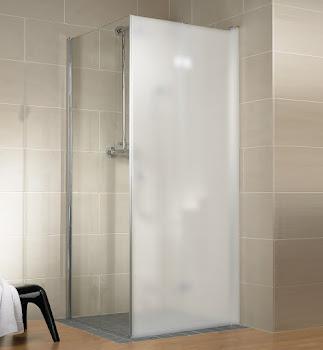 Paroi latérale pour porte de douche pivotante-pliante