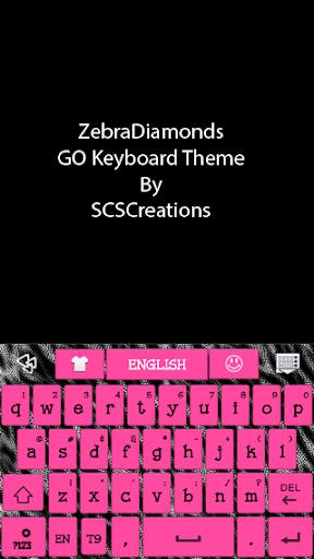 GO KB SKIN - ZebraDiamonds