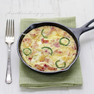 Jalapeno Popper Frittata – Low Carb and Gluten Free